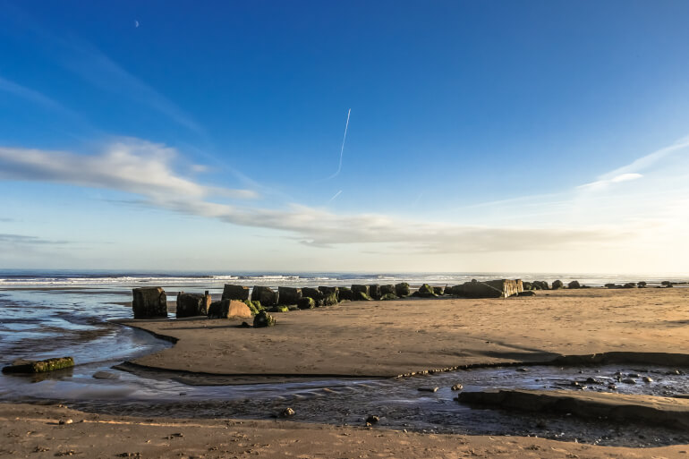 Fraisthorpe Beach - Best dog-friendly Yorkshire beaches