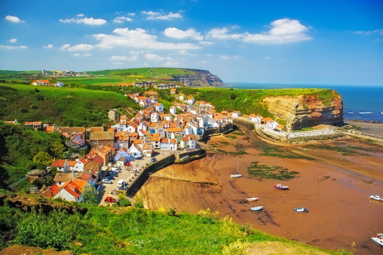 Staithes - Best dog-friendly Yorkshire beaches