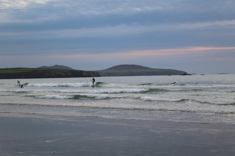 Whitesands Bay surf