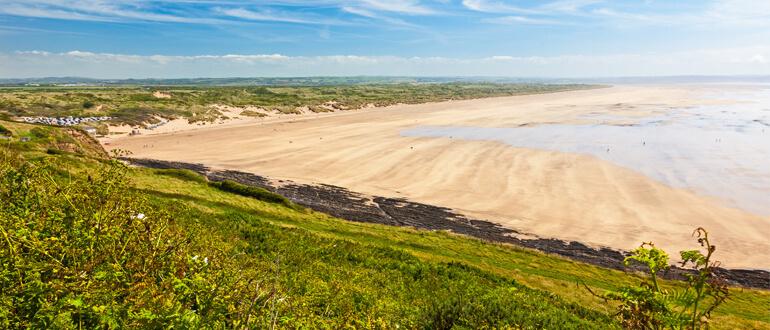 Saunton Sands in North Devon