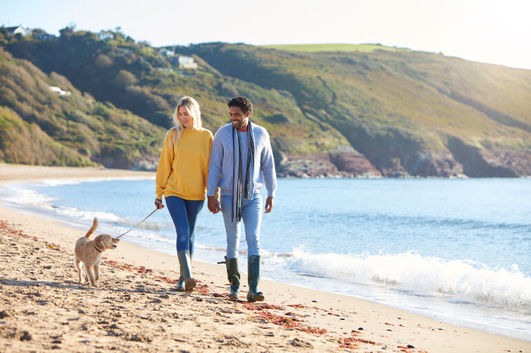 Dog-friendly beaches in Wales