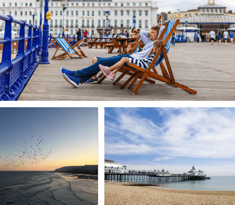 Eastbourne Seafront and Pier