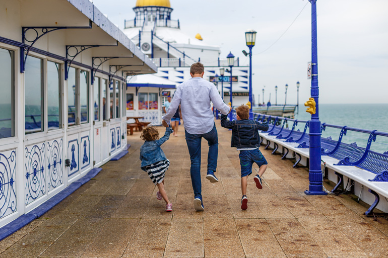 Traditional seaside holidays in the UK