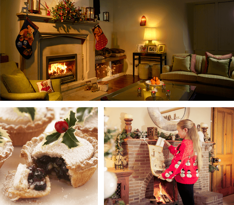 Cosy holiday cottages for Christmas