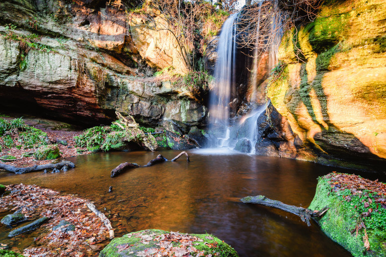 Roughting Linn Waterfall