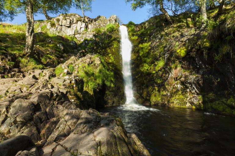 Linhope Spout Waterfall