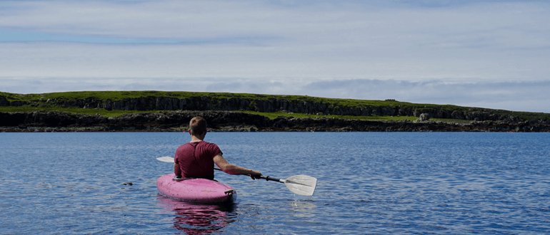 Canoeing on the Beaulieu River