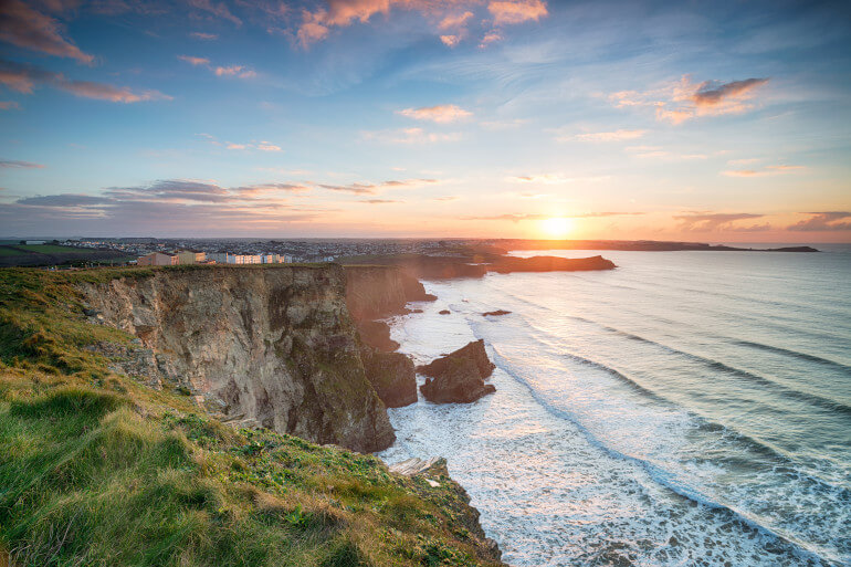Newquay view - little ways to change the world