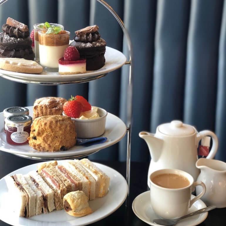 Ufford Park afternoon tea