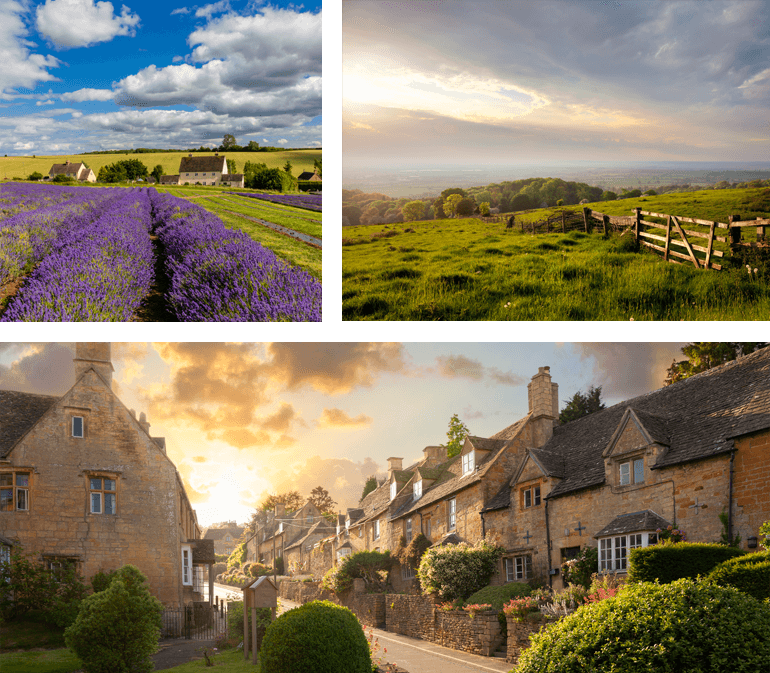 honeymoon in the Cotswolds