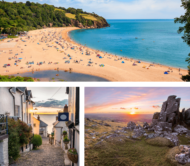 honeymoon in Devon