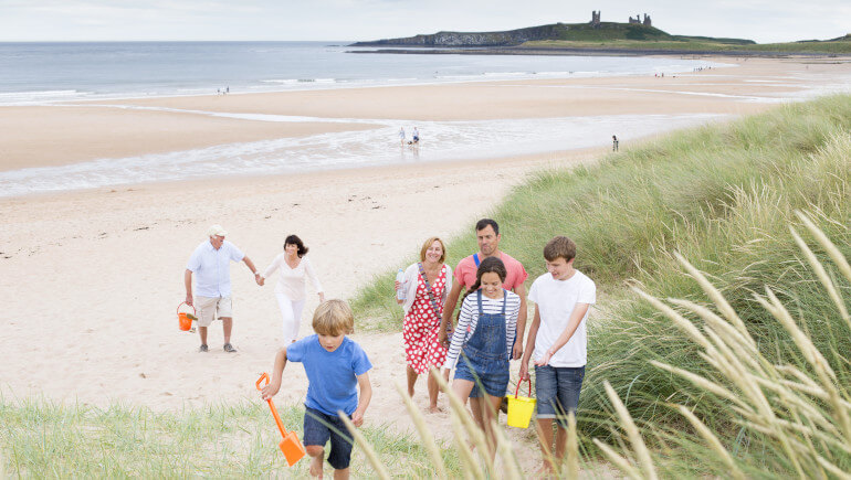 Days out with kids in Northumberland