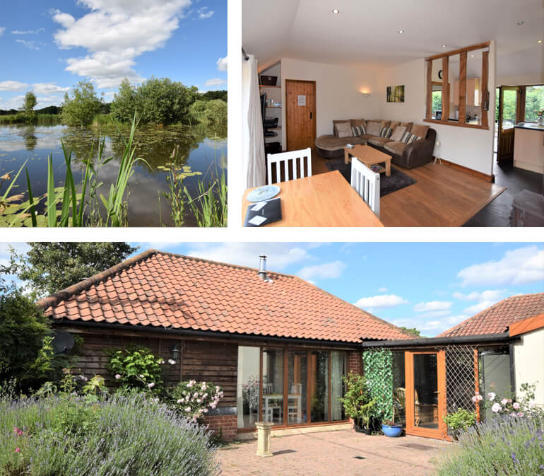 Harling Lodge, Thetford | sleeps 3 and 1 dog