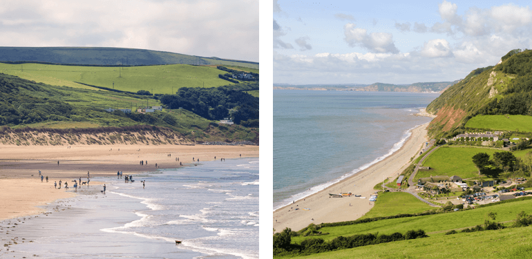Woolacombe and Branscombe