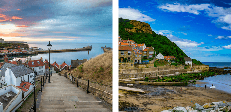 Whitby and Runswick Bay