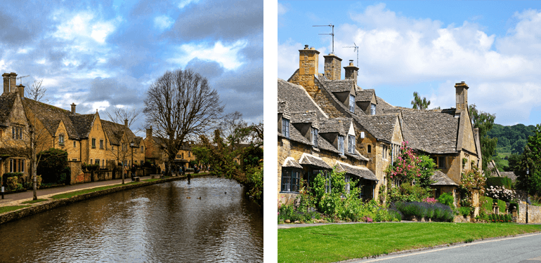 Bourton on the Water and Broadway