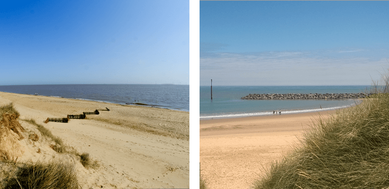 Great Yarmouth and Sea Palling