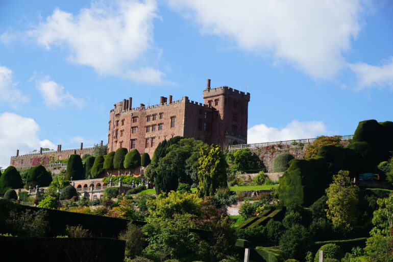 Powis Castle and the Montgomery Canal Walk