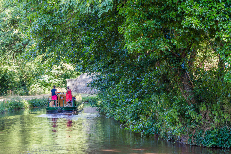 River Usk, Monmouthshire, and Brecon Canal Walk