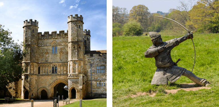 Battle Abbey is good if you're looking for things to do on a rainy day in Sussex