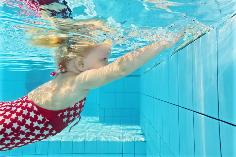Swimming is a great activity if you're looking for rainy day activities in Sussex