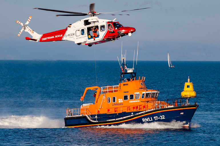 See the lifeboats at Shoreham Harbour Lifeboat Station