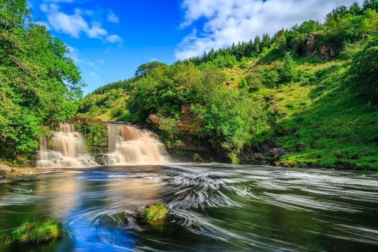 Northumberland waterfalls