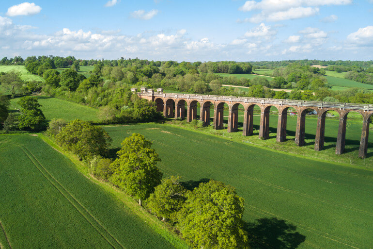 Feel tiny beneath the ten-storey tall Ouse Valley Viaduct
