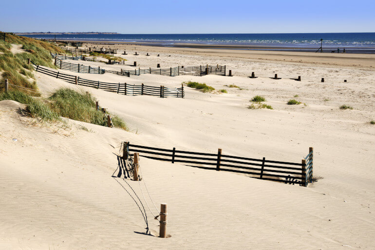 Relax on the sandy shores of West Wittering Beach
