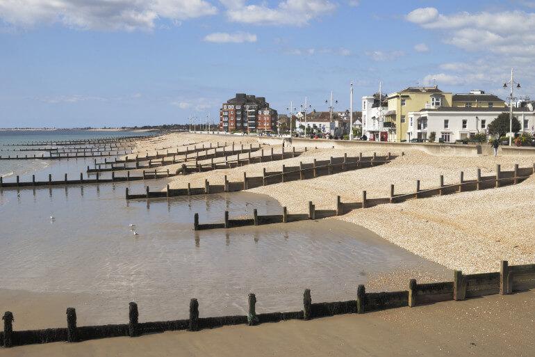 Enjoy a classic day at the seaside at Bognor Regis Beach