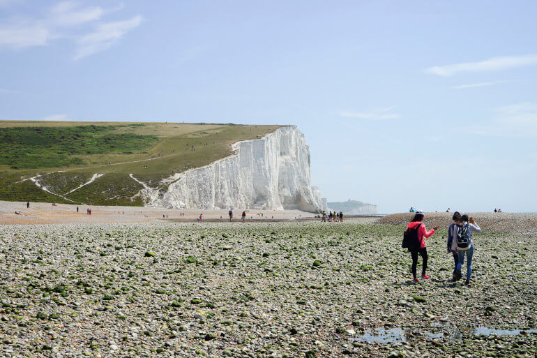 Go fossil hunting at Cuckmere Haven