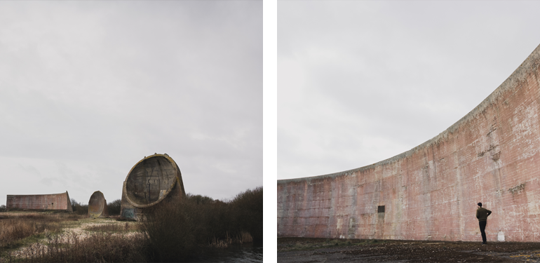 Step back in time to The Sound Mirrors, Romney Marsh