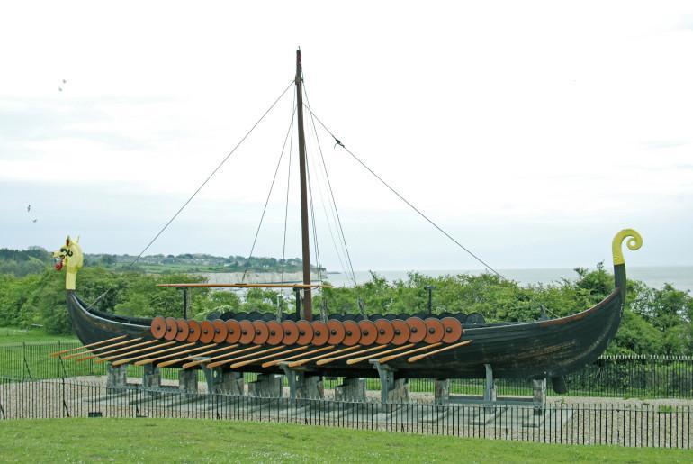 See a Viking ship, Ramsgate
