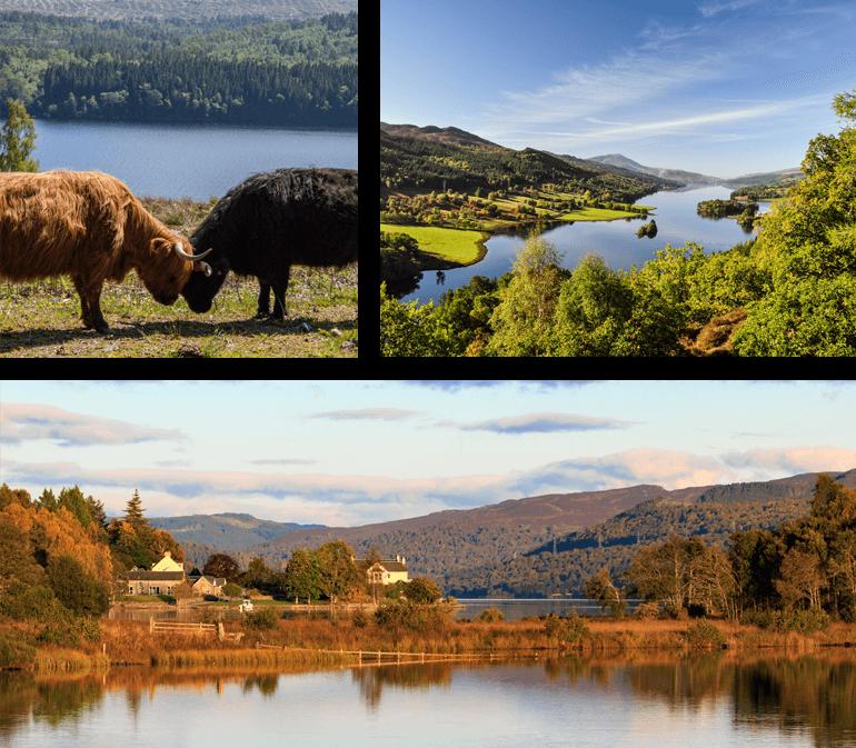 Best lochs in Scotland - Loch Tummel