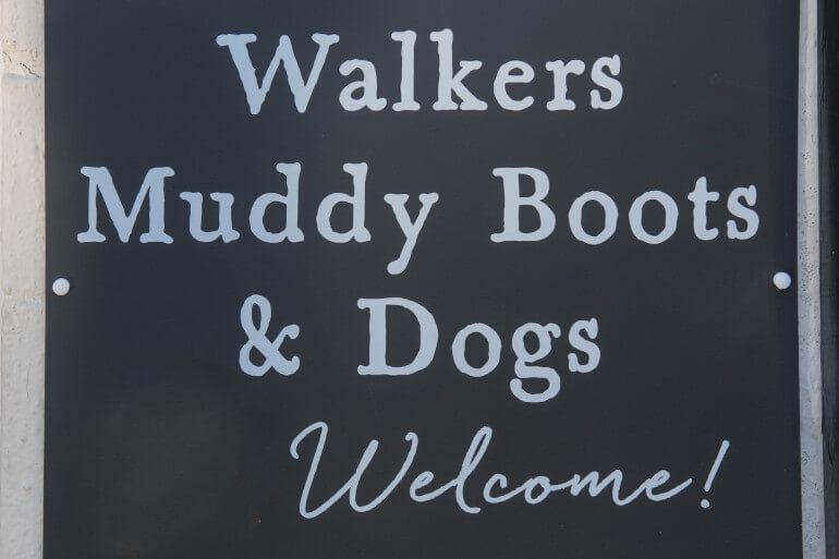 Dog-friendly pub