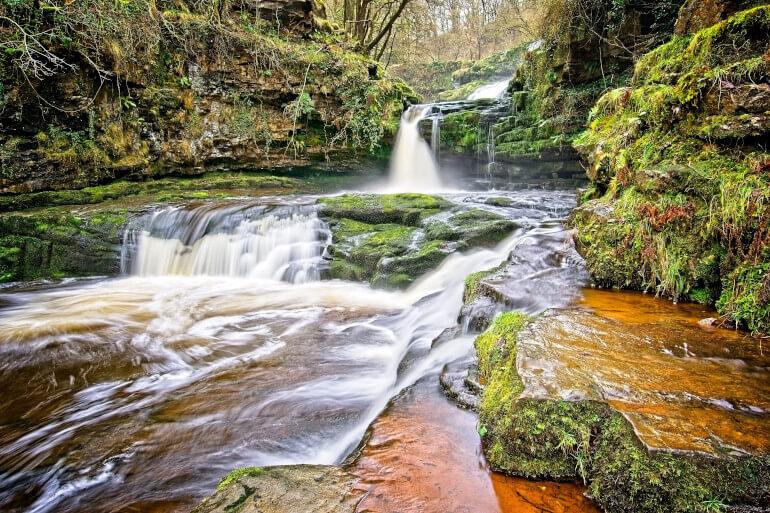Four Falls walk, Brecon Beacons