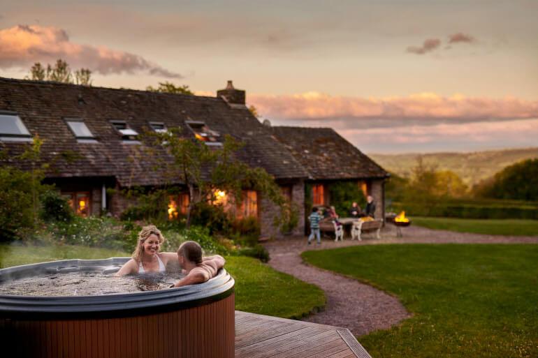 Hot tub holiday