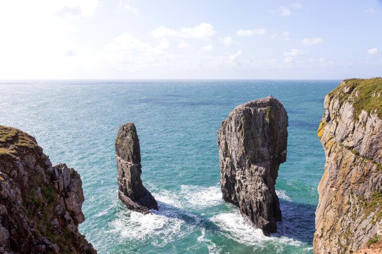 Stack Rocks to St Govan's
