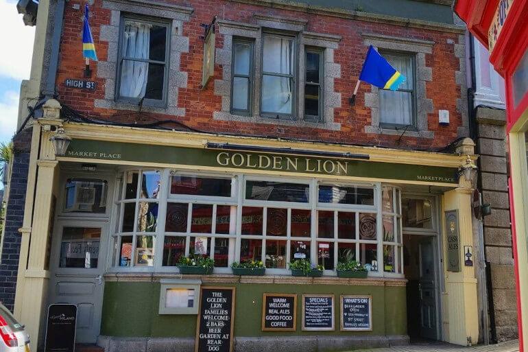 Golden Lion   St Ives