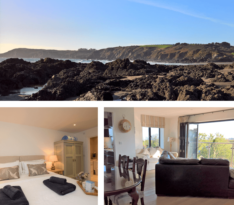No.5 The Beach – Kennack Sands| Sleeps: 4 guests + 2 dogs