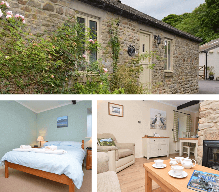 Heron Cottage at Bradley Burn Farm, North of England   Sleeps: 2 guests + 2 dogs
