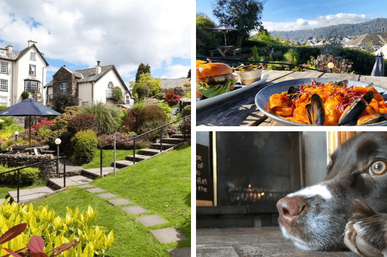 Food with great views and cosy fires at the Angel Inn