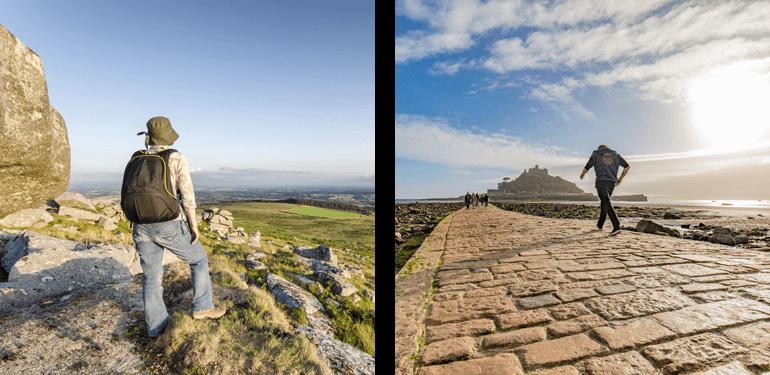 Bodmin Moor and St Michael's Mount