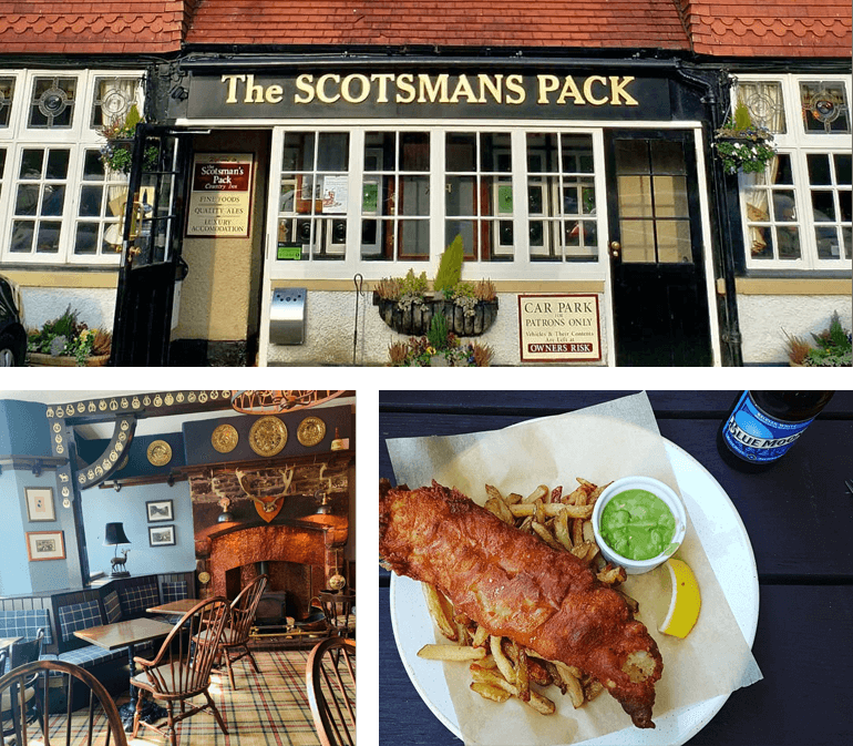 The Scotsman's Pack Country Inn, Hathersage