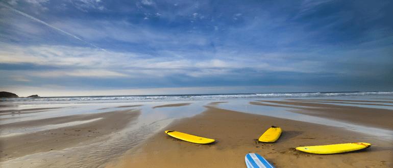 Cornwall surfing destinations