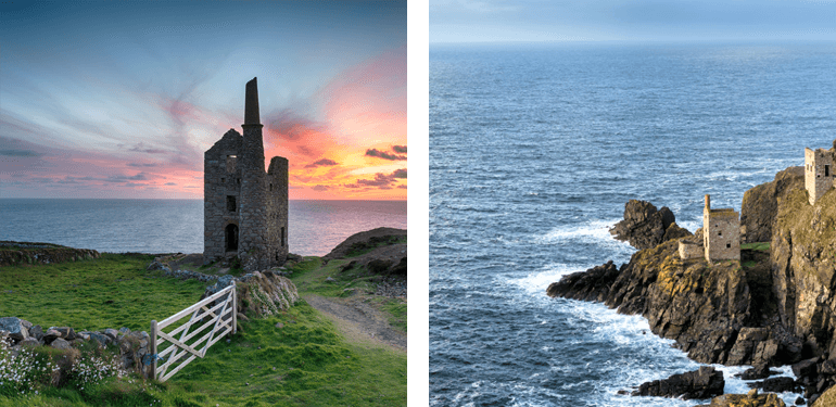 West Wheal Owles Engine House and Botallack Mine