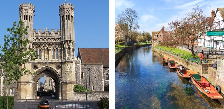 The Canterbury Tales, Canterbury