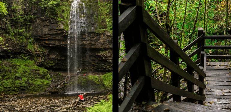 Henrhyd Falls and Nant Llech Walk