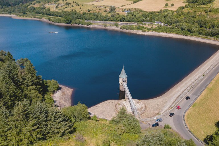 Pontsticill Reservoir Walk