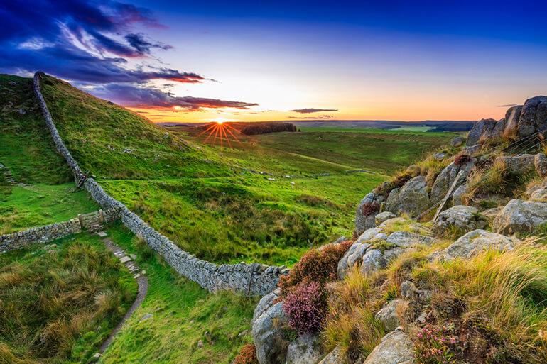 Stunning Northumberland by Hadrian's Wall